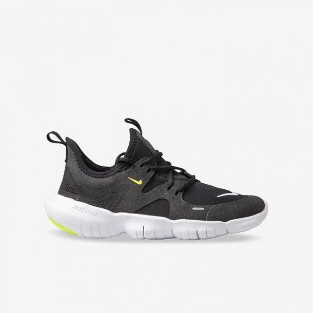 Shop Kids Nike Black Free Run 5.0