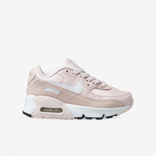 Shop Kids Nike Pink Air Max 90 Online