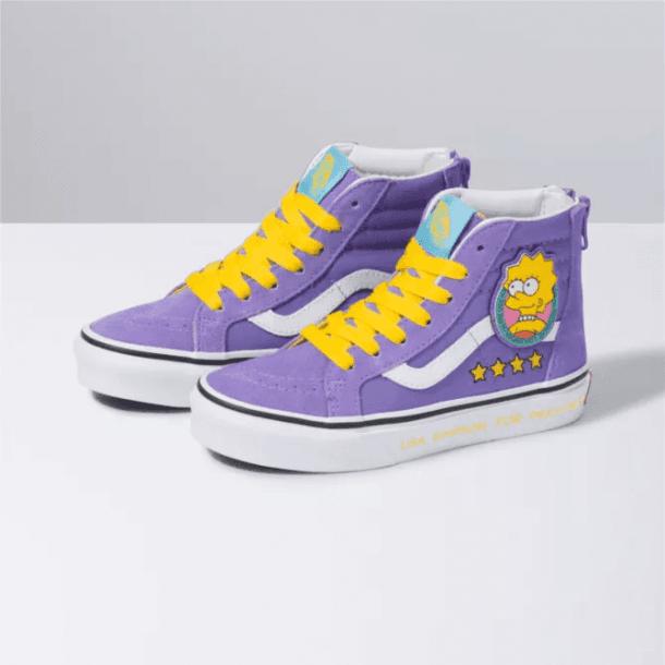 vans kids purple