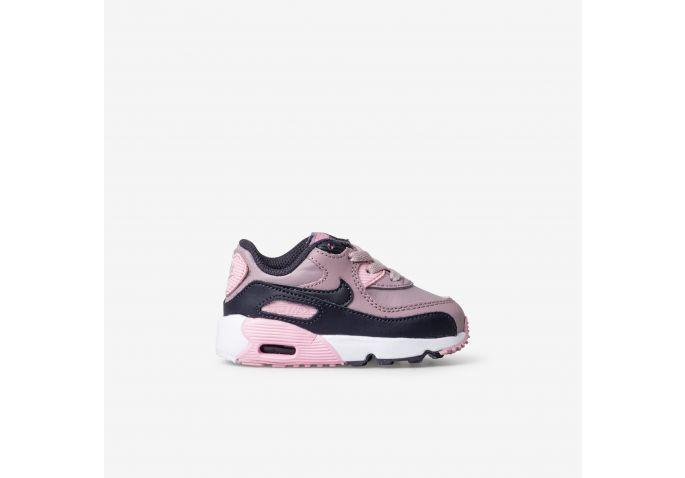 new style faaa4 dd71e Shop Toddler Nike Pink Air Max 90 Leather Online   The Trybe