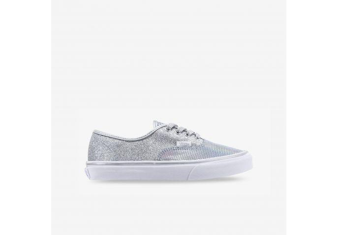 e7a1683058 Shop Kids Vans Metallic Glitter Authentic Online