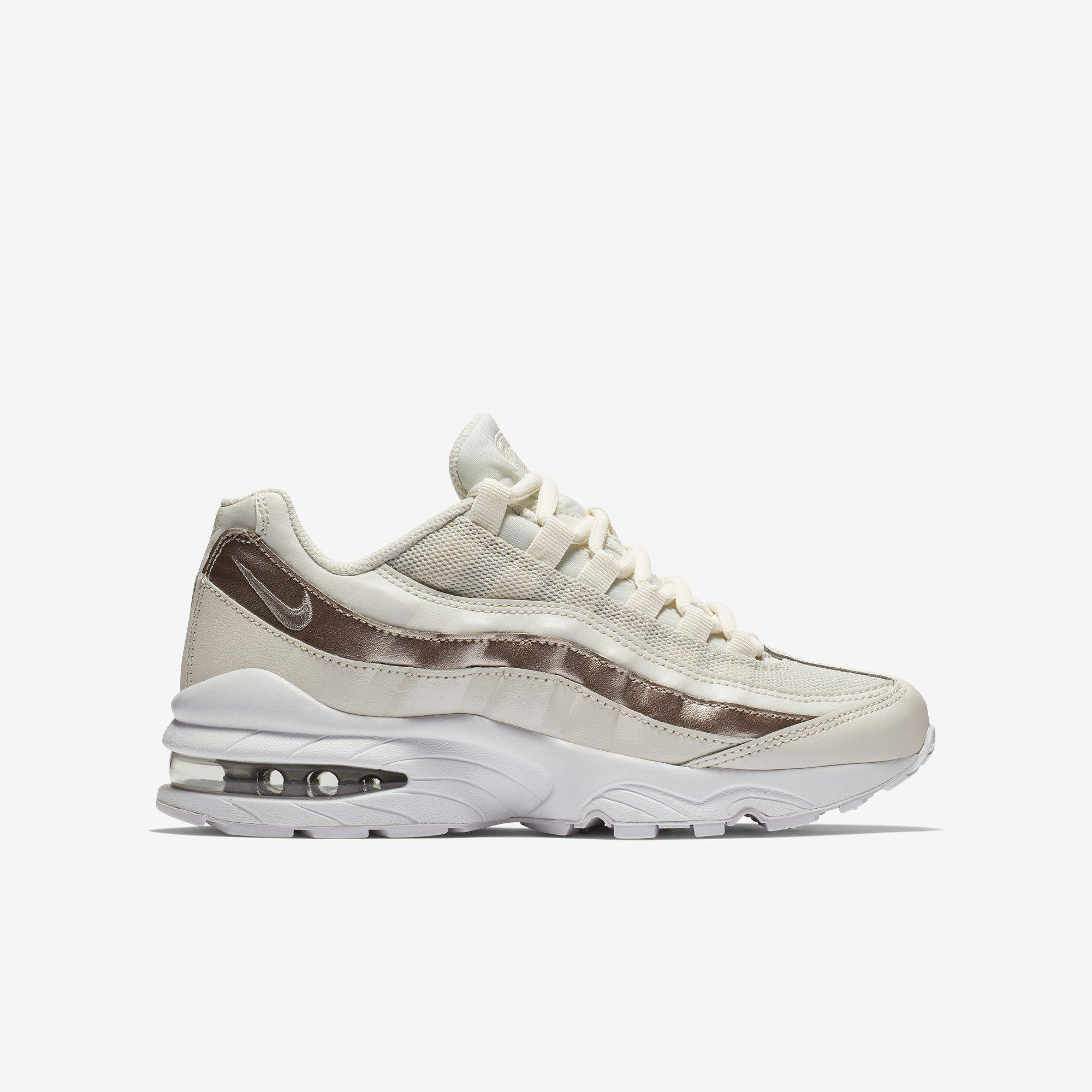 Shop Kids Nike Metallic Air Max 95 Online | The Trybe