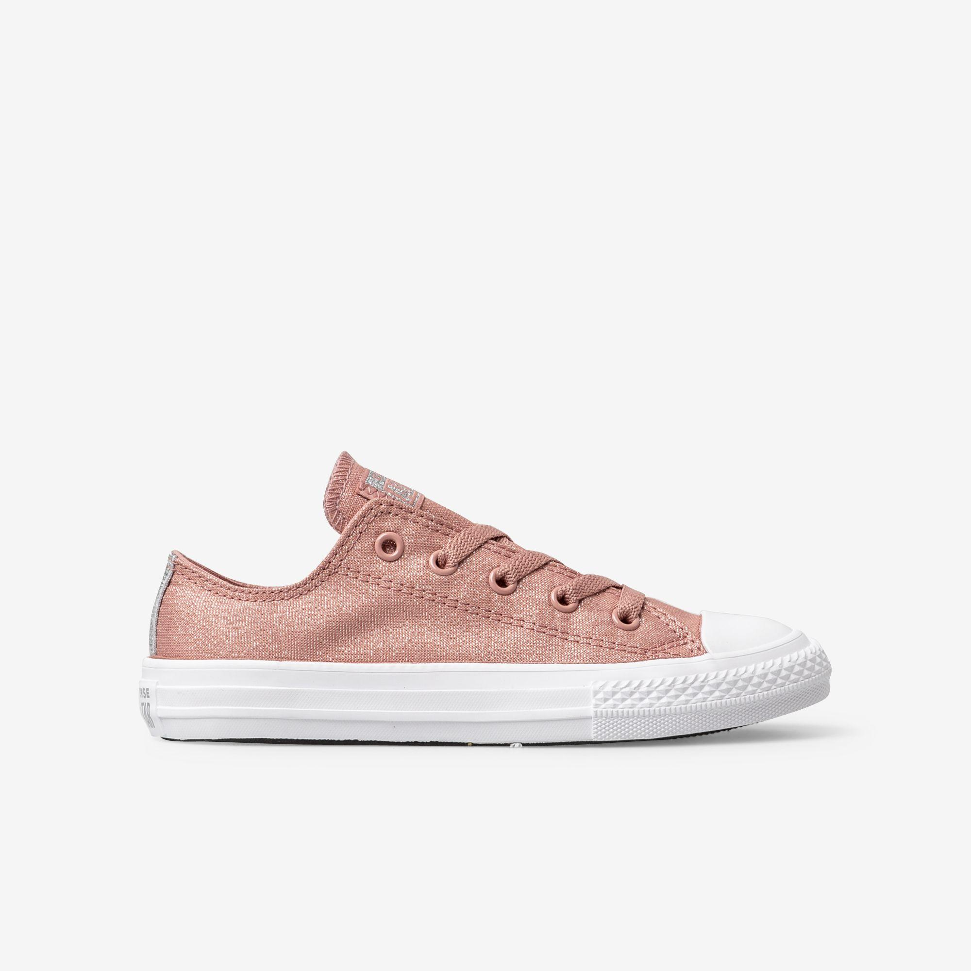 Shop Kids Converse Pink Chuck Taylor All Star Fairy Dust Low