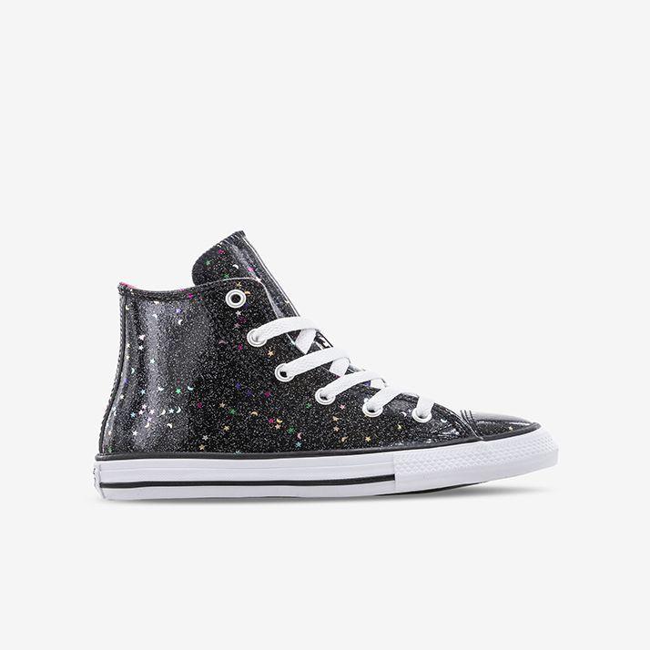 Shop Kids Converse Black Chuck Taylor All Star Hi Galaxy