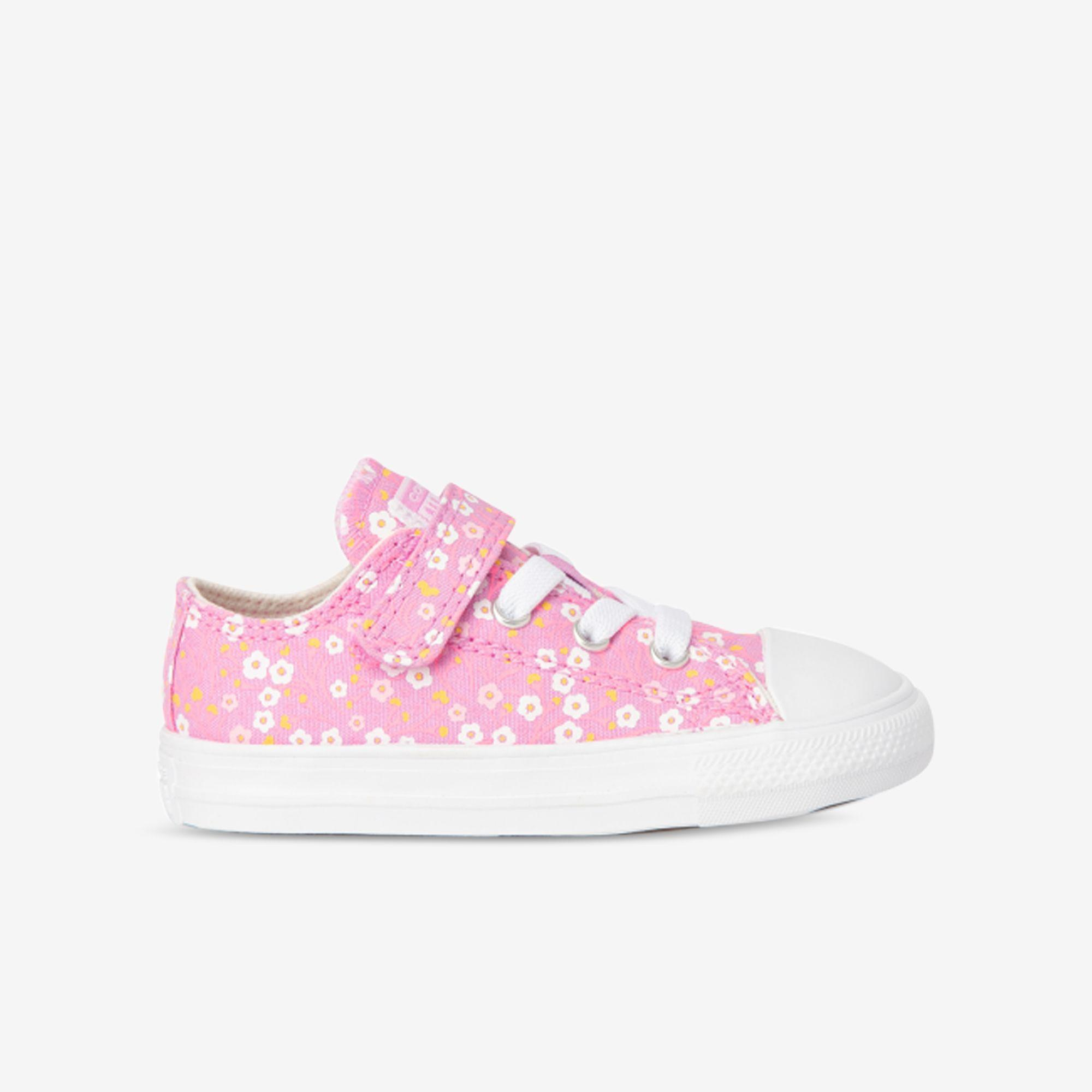 Shop Toddler Converse Pink Chuck Taylor All Star Ditsy