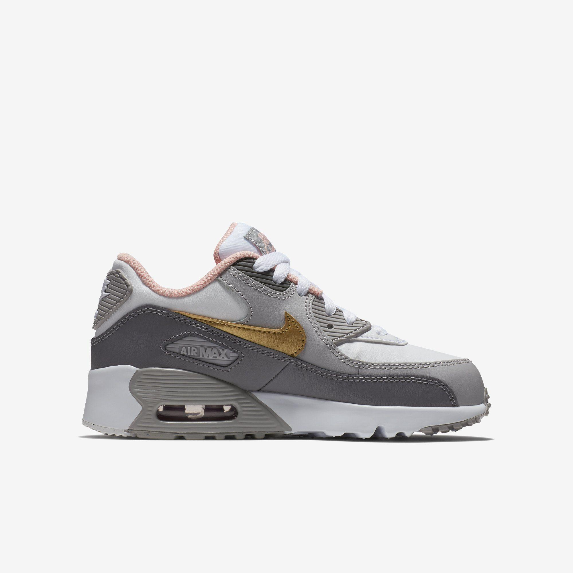 NIKE Atmosphere Grey Nike Air Max 1 Infants Sneakers