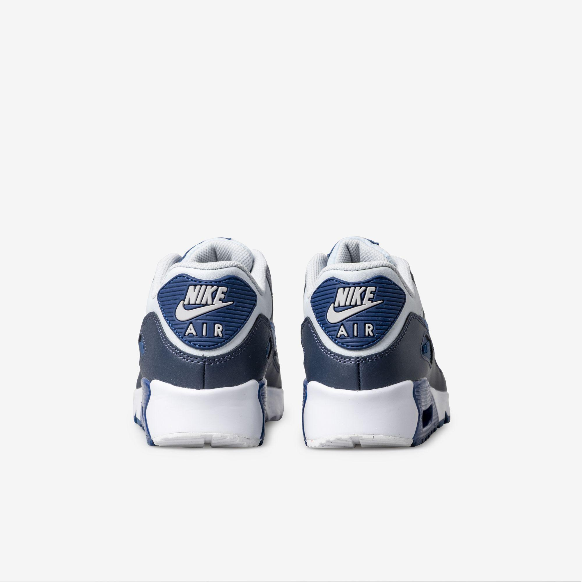 Shop Kids Nike Blue Air Max 90 Online | The Trybe
