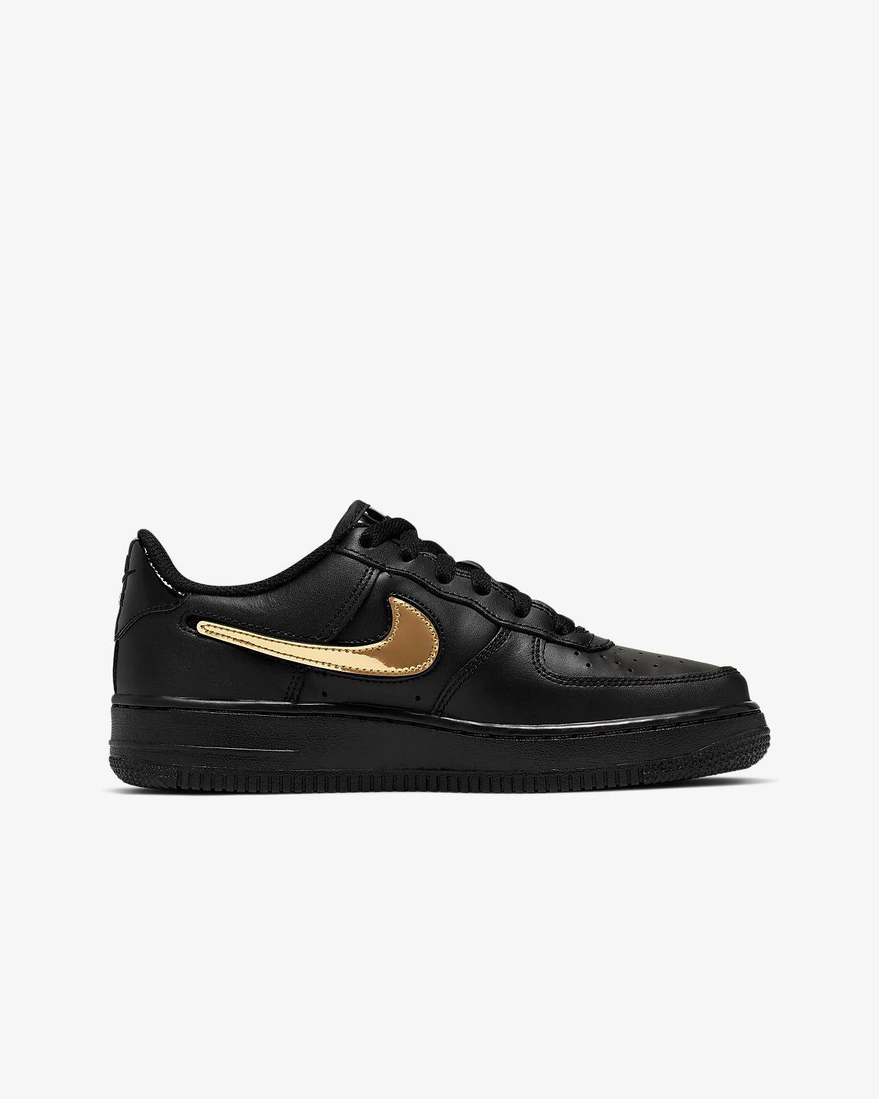 Womens Nike Air Force 1 Lv8 Black White Uk Size 3.5