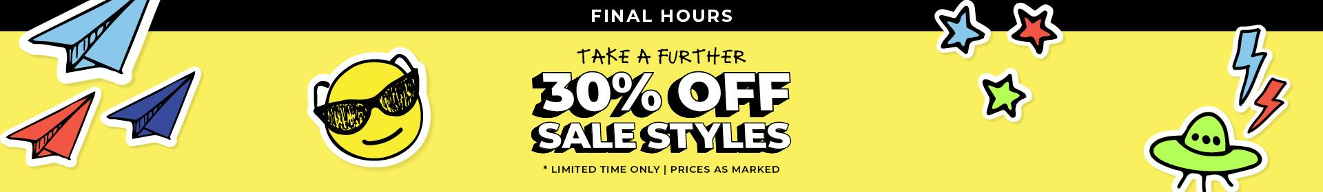Take a Further 30% Off Sale | The Trybe | Limited Time Only | While Stocks Last