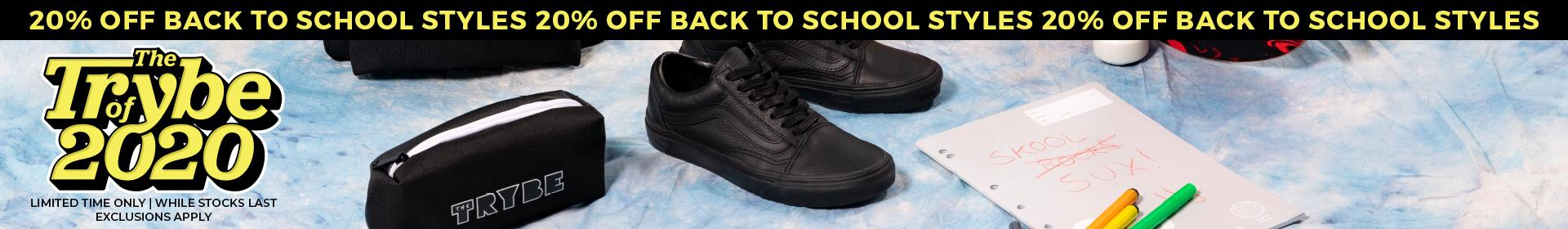 The Trybe of 2020 - Shop Back to School Styles