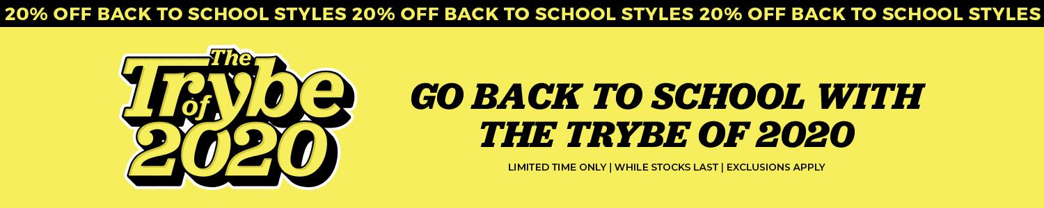 Shop The Trybe of 2020 | Back to School