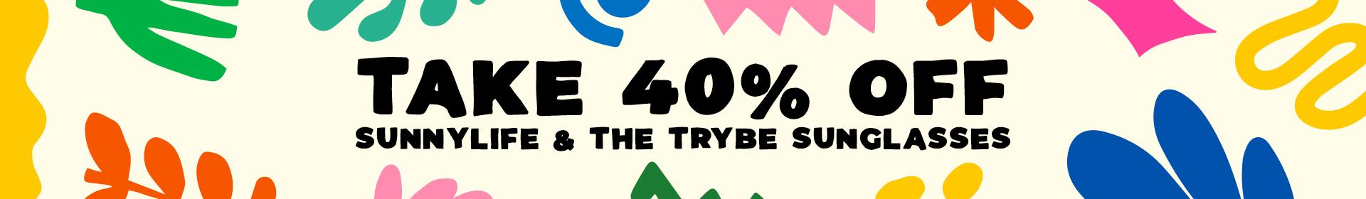 40% Off The Trybe Sunglasses