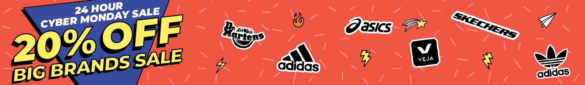 20% Off Big Brand Cyber Sale | adidas added shop now