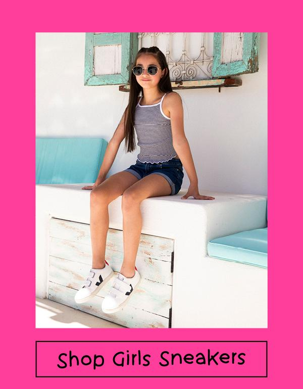 Shop Girls Sneakers