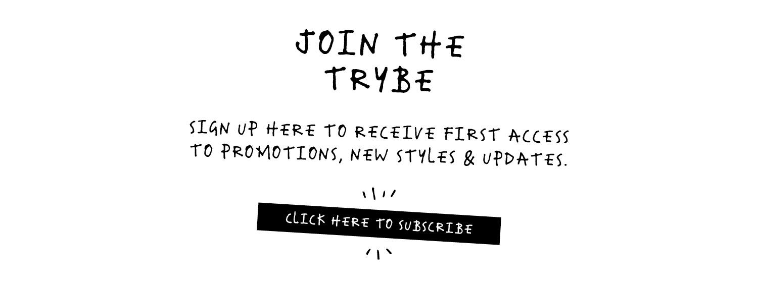 Sign Up to The Trybe